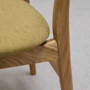 Elke Dining Chair - Chartreuse