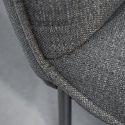 Maya Armchair - Grey Tweed