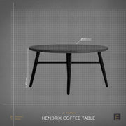 Hendrix Round Coffee Table