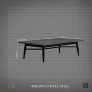 Hendrix Rectangle Coffee Table