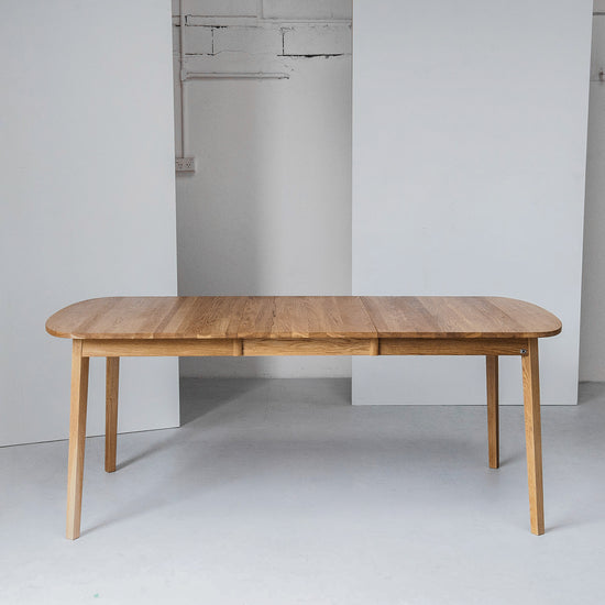 Hans K Scandinavian oak extension Dining Table at EDITO Furniture