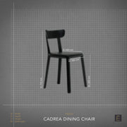 Cadrea Dining Chair - Green