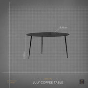 July Coffee Table