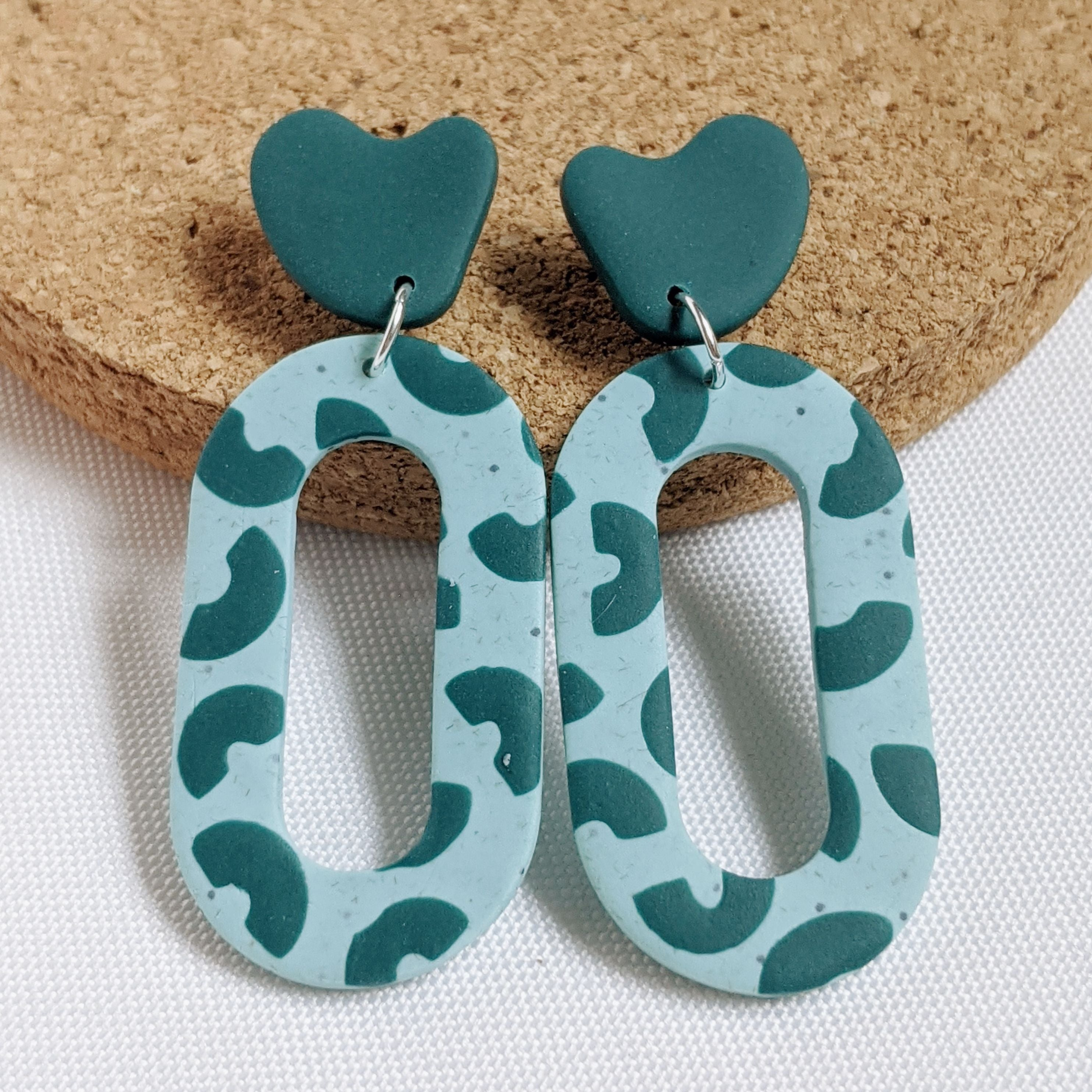 Minty Fresh Oval Dangles