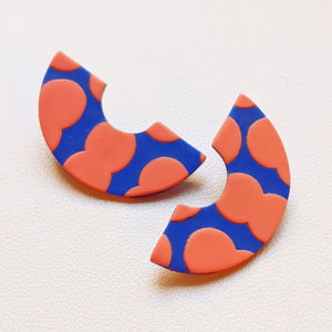 Seconds Sale - Circus Peanut Rainbow Studs