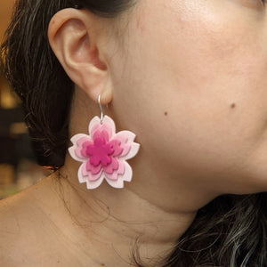Peak Bloom Cherry Blast Earrings