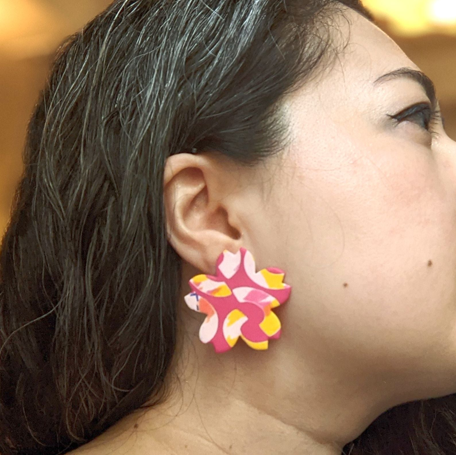 Peak Bloom Cherry Bomb Earrings