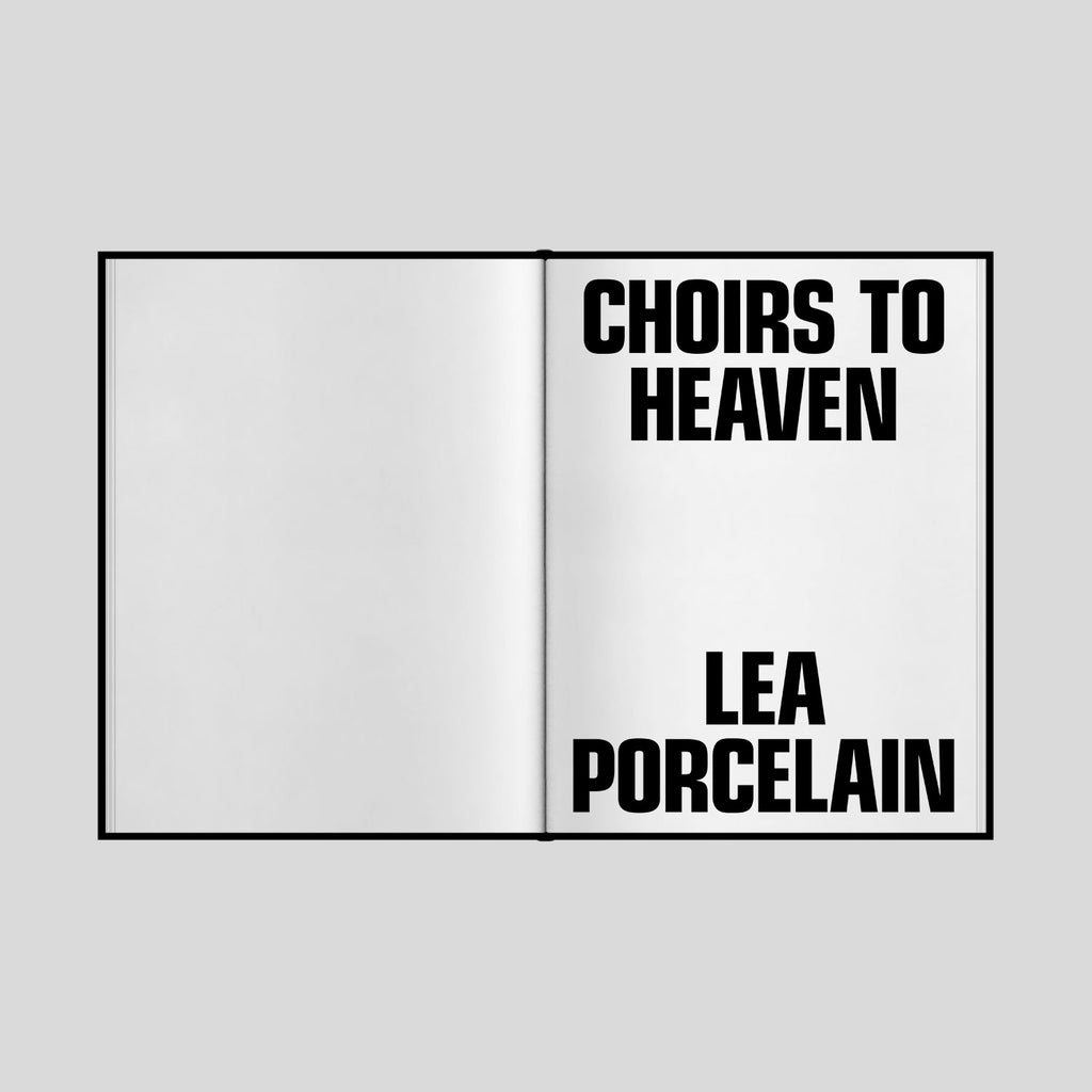 CHOIRS TO HEAVEN Book (Limited)