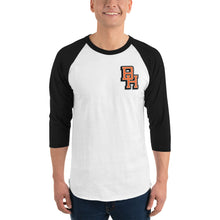 Load image into Gallery viewer, BH 3/4 Sleeve Raglan Shirt