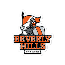Load image into Gallery viewer, Beverly Hills High School Norman Bubble-free Stickers