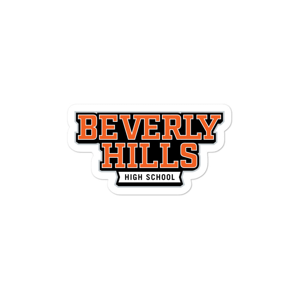 Beverly Hills High School Bubble-free Stickers