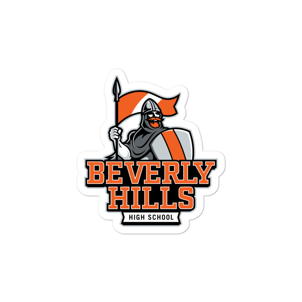 Beverly Hills High School Norman Bubble-free Stickers