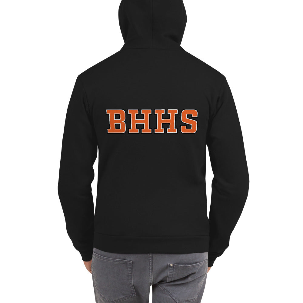 BHHS (Back) Zip Up Hoodie Sweater