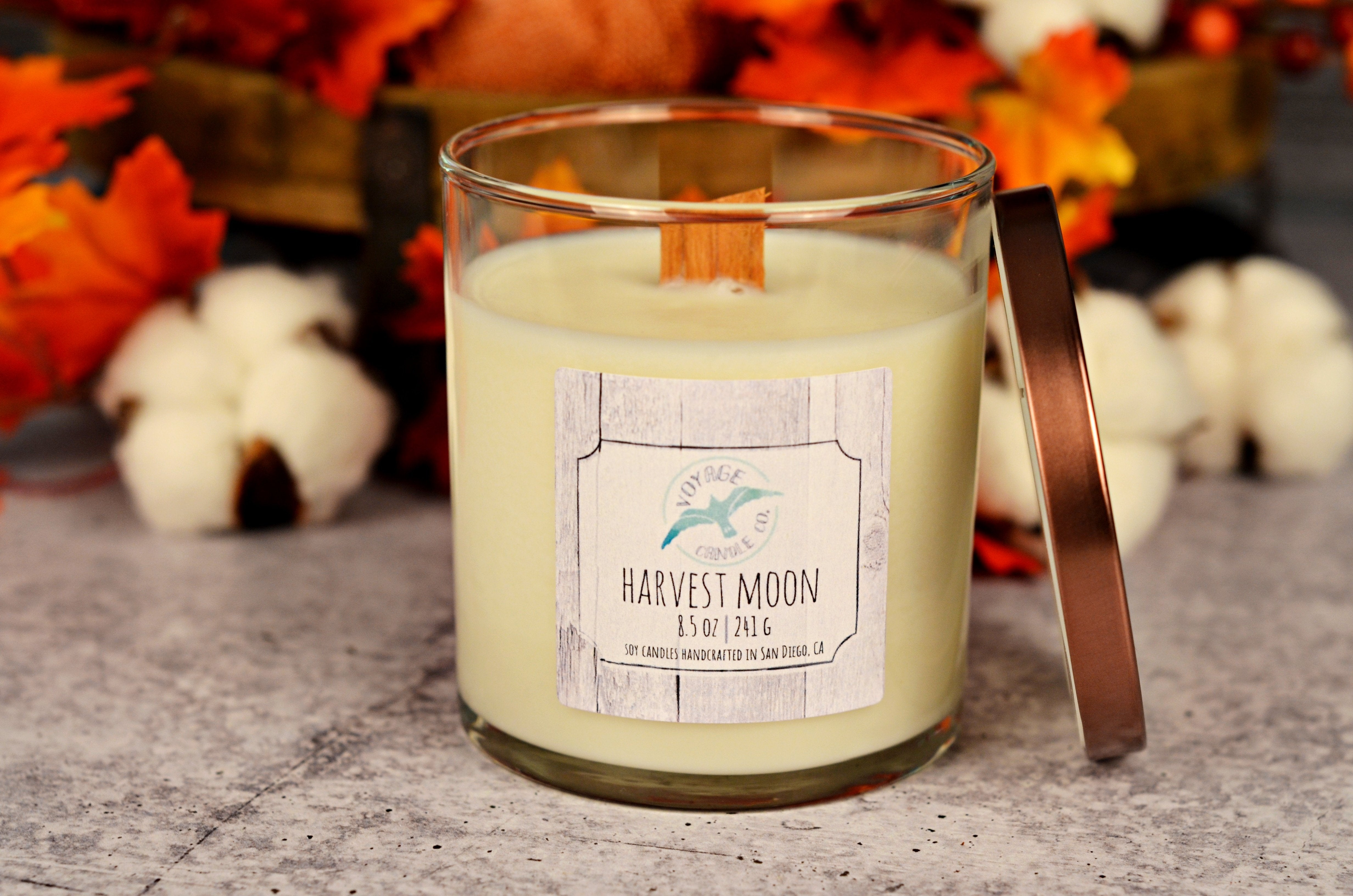 Harvest Moon - Wood Wick