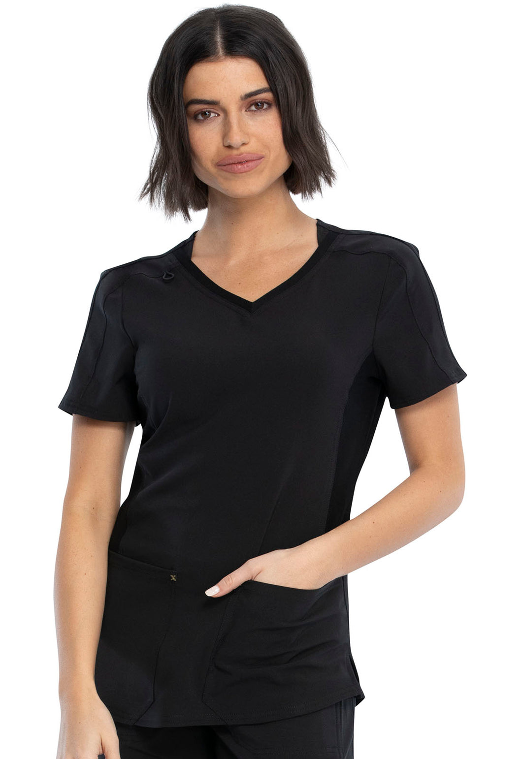Cherokee Katie Duke IFlex V Neck Top