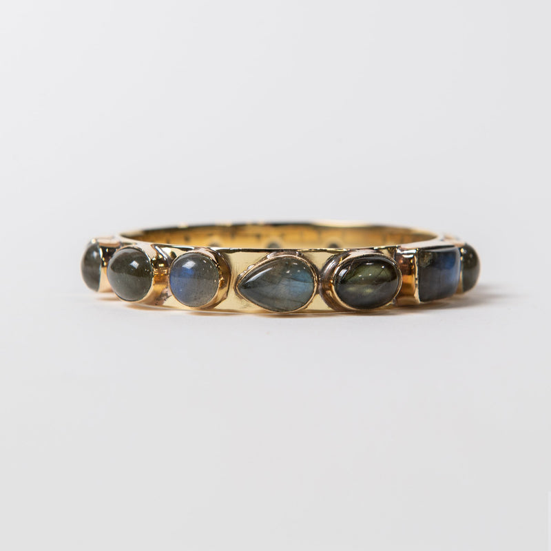 Bendall Gemstone Bangle - Labradorite