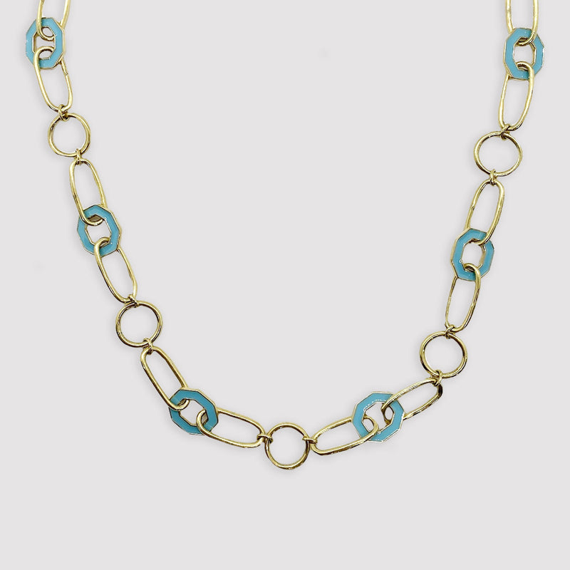 Ellis Necklace - Amazonite