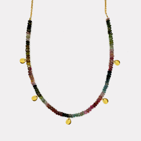 Poppy Necklace - Tourmaline