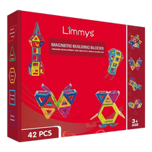 Load image into Gallery viewer, Limmys Magnetic Building Blocks 42 PCS
