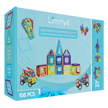 Load image into Gallery viewer, Limmys Magnetic Building Blocks 108 PCS