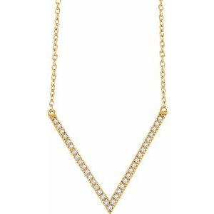 The Diamond Vivian Necklace