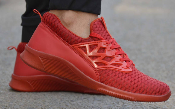 Red Colour Training Sports Shoes