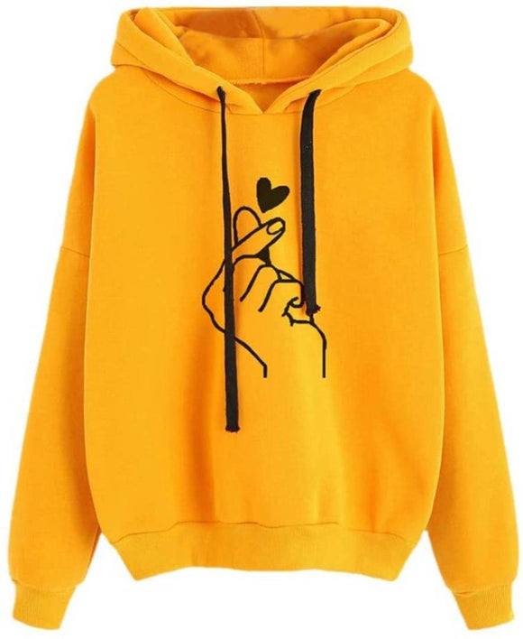 Raabta Mustered Hand Print Sweatshirt for women