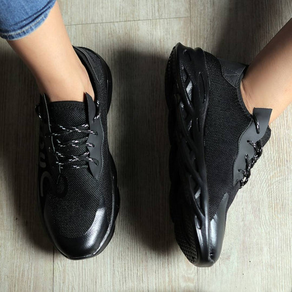 Men Black Sports Shoes