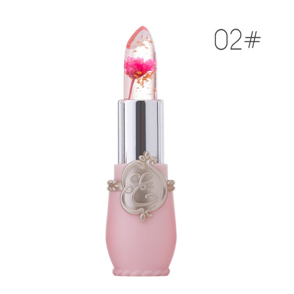 Creative Jelly flower lipstick lasting moisturizing lip balm