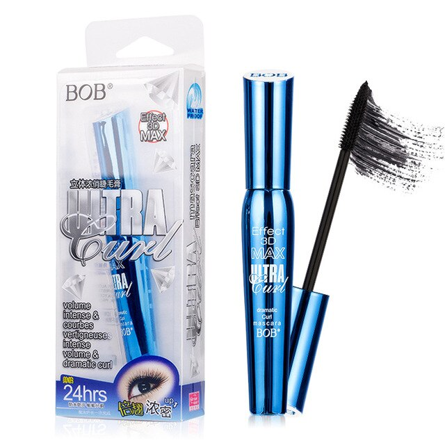 3D fiber eyelash extension mascara black eyelash extension eyelash bushy waterproof