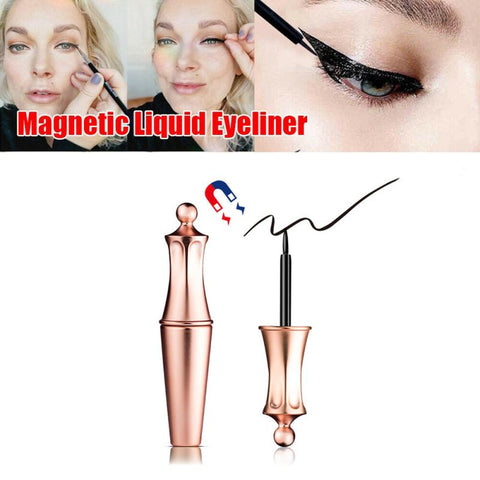 Magnetic eyeliner is fast dry, durable and easy to wear magnet