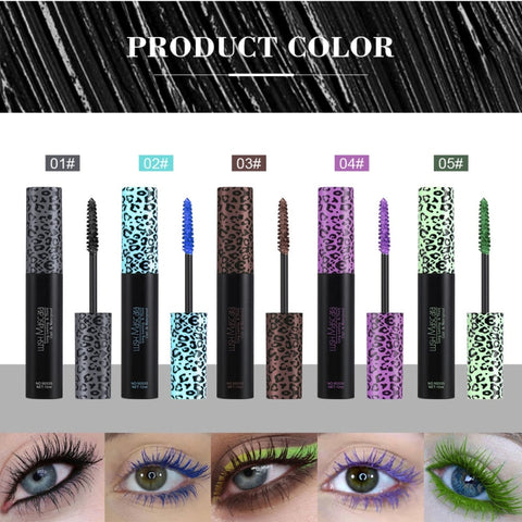 Professional dazzle mascara waterproof quick dry