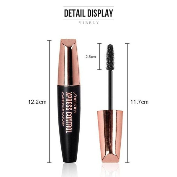4D silk fiber mascara mascara is waterproof, durable and fast drying