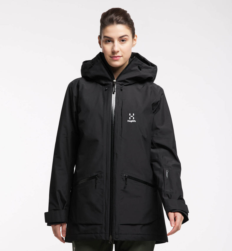 Haglöfs Lumi Insulated Parka, Dame - True Black