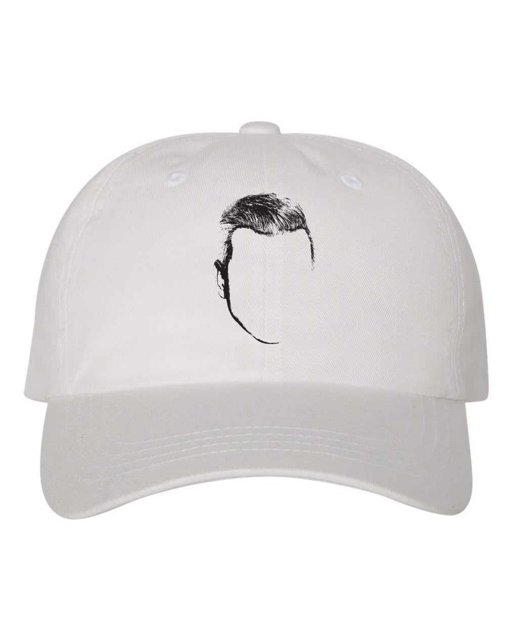 Young Grey Logo Hat (White)