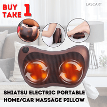 Load image into Gallery viewer, Powerful Shiatsu Back and Neck Massager - Kneading Massage Pillow