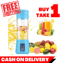 Load image into Gallery viewer, BUY 1 TAKE 1 Electric Juicer Portable USB Mixer Machine