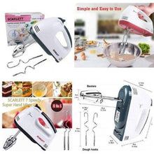 Load image into Gallery viewer, [BUY 1 TAKE 1] Scarlet Hand Mixer Professional Electric Whisks Hand Mixer