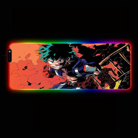 Tapis de souris my hero <br> academia Izuku