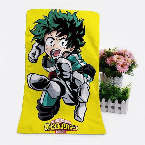 Serviette My Hero <br> Academia Izuku