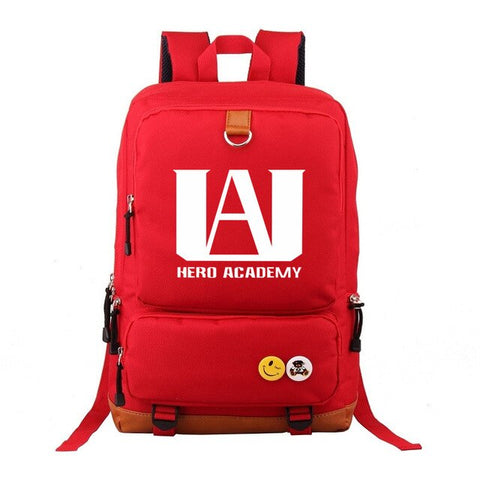 Sac a Dos My Hero<br> Academia Rouge