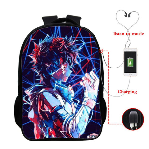Sac My hero <br> Academia Izuku