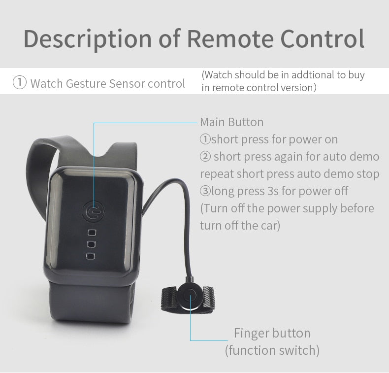 Gesture Induction Radio-Controlled Car