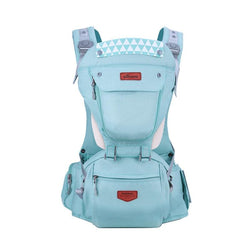 Ergonomic Baby Carrier Sling Backpack - 360 Hip-seat Baby Wrap Sling