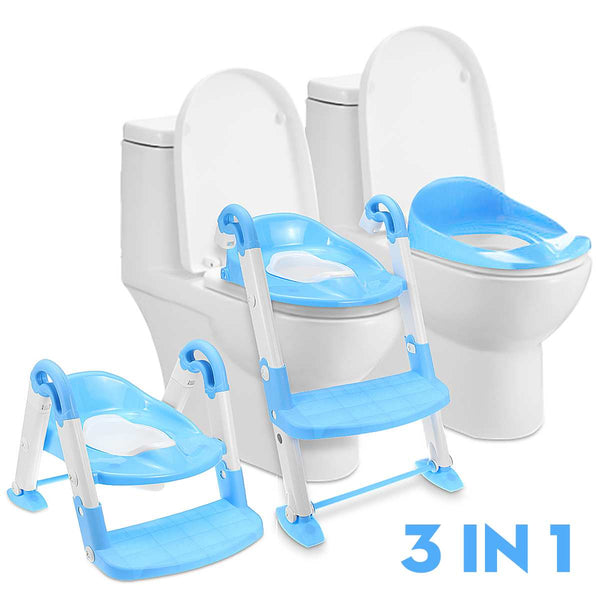 3 in 1 Folding Baby Toilet Training Seat