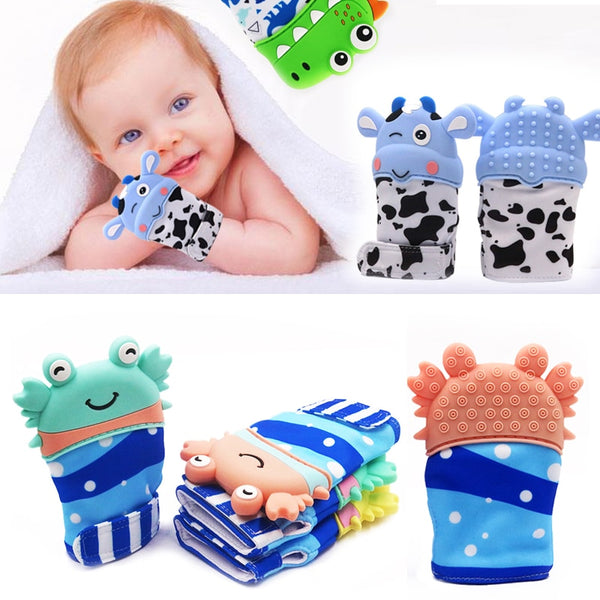 Newborn Baby Gloves - Silicone Teether