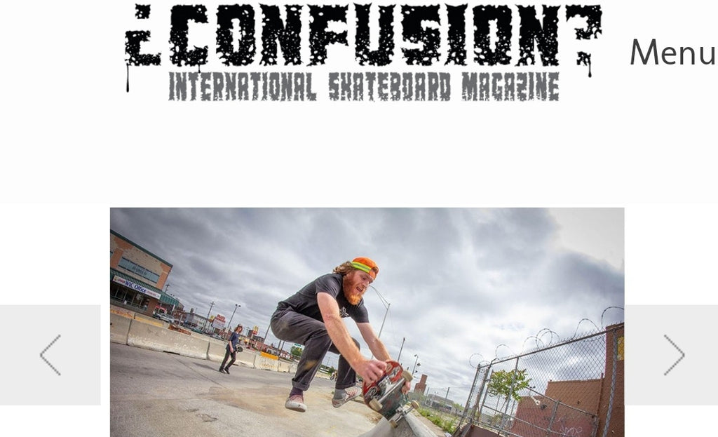 Team Rider Greg Pachell on Confusion Magazine