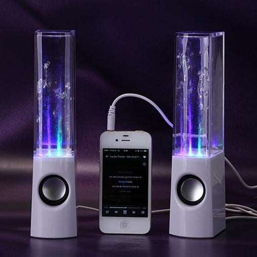 LED Dancing Water Speakers - Gifts and Gadgets