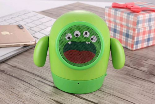 Cartoon mini bluetooth music player - Gifts and Gadgets