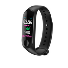 Load image into Gallery viewer, Smart Bracelet Heart Rate and Blood Pressure Exercise Meter Step Information Push Smart Reminder Color Bracelet - Gifts and Gadgets